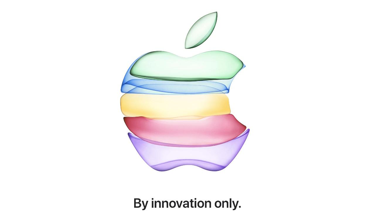 Apple September 2019 event invite